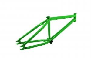 Cadre de vélo peint avec peinture électrostatique